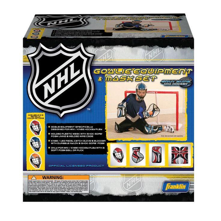 Franklin Sports NHL Mini Hockey Goalie Set - 12436P1