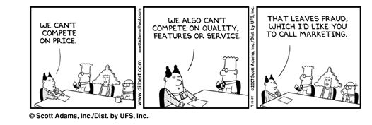 Le marketing vu par Scott Adams