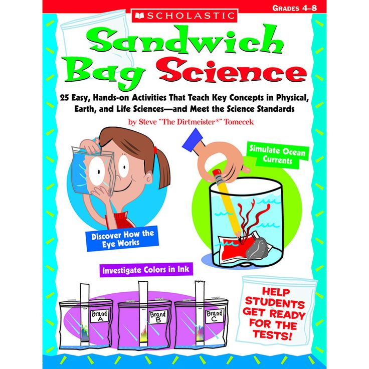 25 Easy, Hands-on Activities That Teach Key Concepts in Physical, Earth, and Life Sciences, and Meet the Science Standards Steve THE DIRTMEISTER(tm) Tomecek Find out how an empty sandwich bag can be j