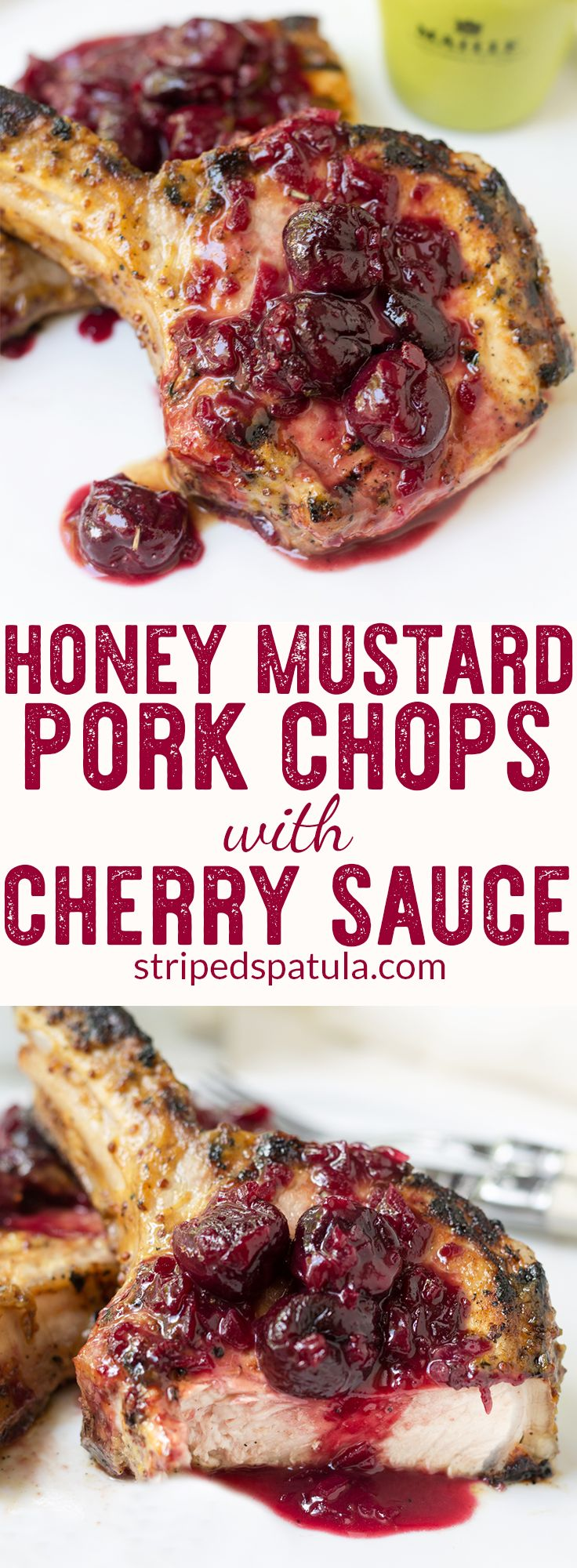 [sponsored] Pork Chop Recipes   Pork Chops   Pork Recipes   Grilled Pork Chops   Grilling Recipes   Mustard Recipes   Cherry Recipes