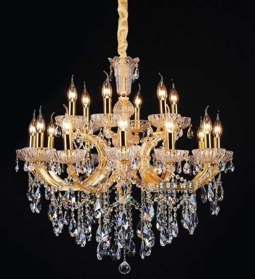 254 best maria theresa chandeliers images on pinterest maria aliexpress buy 18 lights crystal chandelier hanging free shipping chic gold crystal chandelier aloadofball Gallery