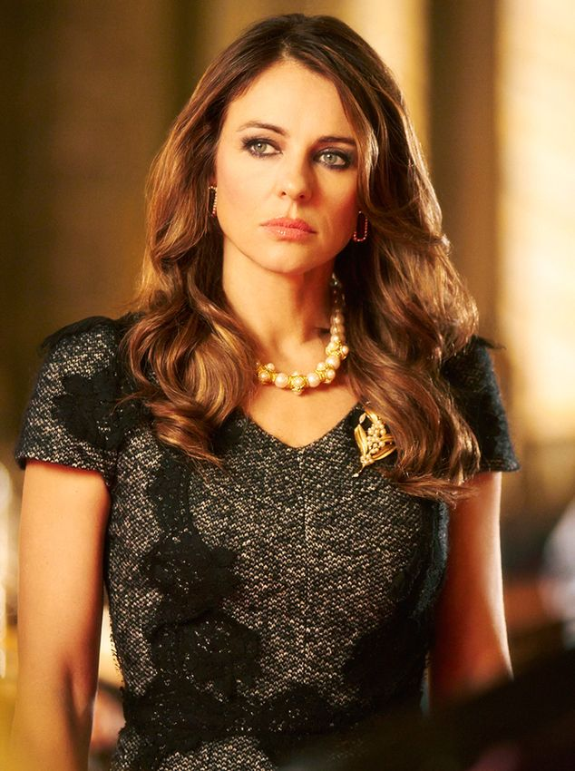 Can Elizabeth Hurley ever look bad?? Love her and her part on the Royals. She's gorge!