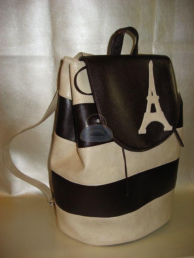 Простой и пошаговый способ как сшить рюкзак своими руками из полосок, с аппликацией на клапане. Можно пошить из самых разных материалов, сочетая цвета.