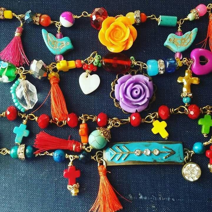 Handmade artisan bracelets by jessica villarreal