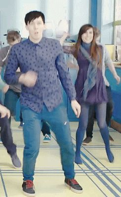 Youtube Rewind 2014 | the fact that Dodie Clark (doddleoddle) is in the background makes yet so much better.