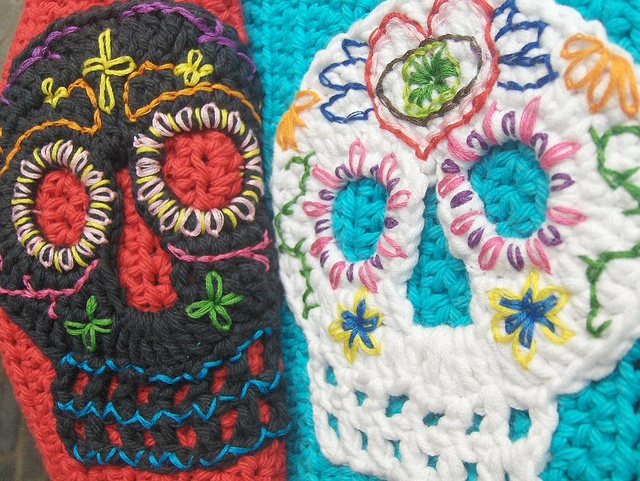 Amigurumi Quetzal : 62 best skull crochet images on pinterest sugar skulls crocheting