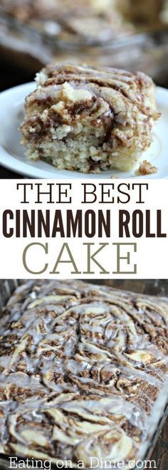 25 Best Ideas About Cinnamon Roll Cakes On Pinterest