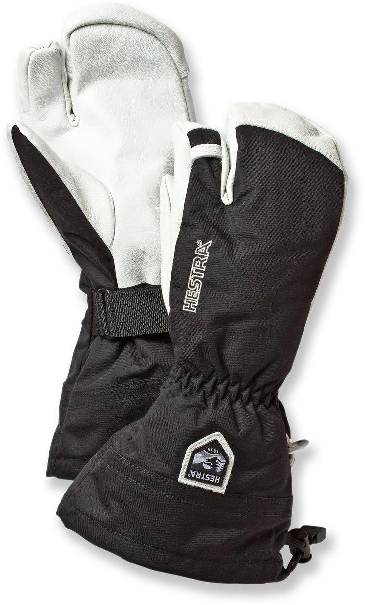 Hestra Gloves Unisex Heli Three-Finger Insulated Gloves