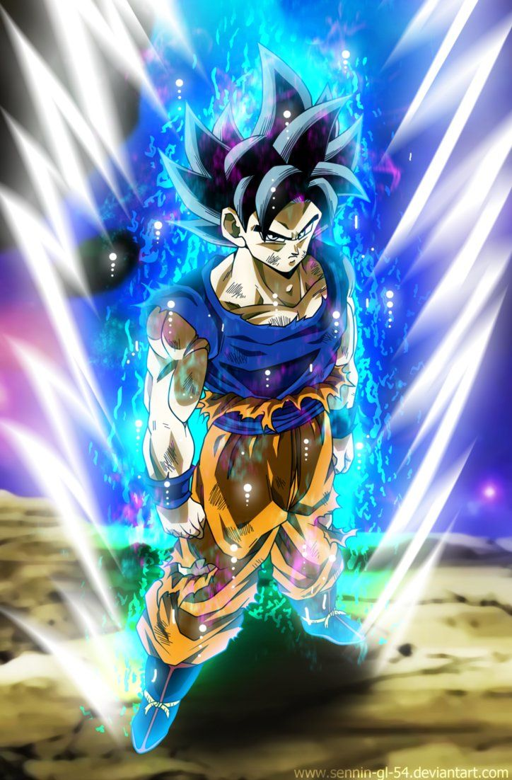 Ultra Instinct Incomplete By Sennin Gl 54 Anime Dragon Ball Super Dragon Ball Super Manga Dragon Ball Goku