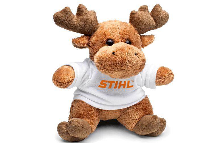 STIHL - Peluche Alce - Brinquedos para crianças. http://www.angelimoto.com