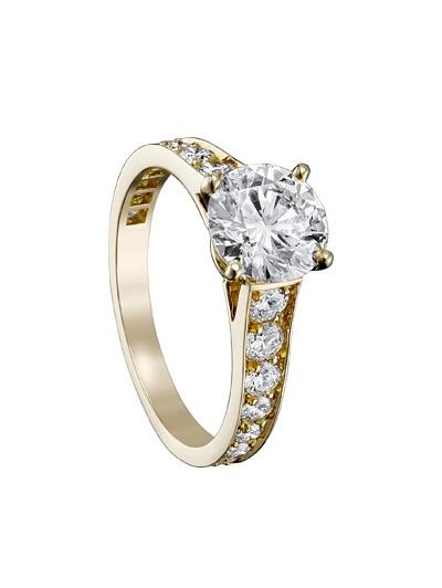 Verlovingsring van Cartier