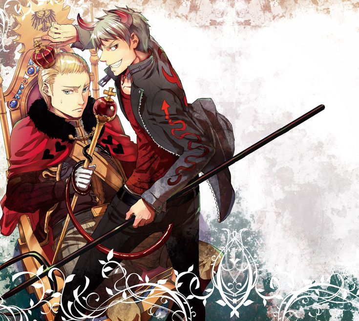 Crossovers King And Queen: Germany (King Of Hearts) / Prussia