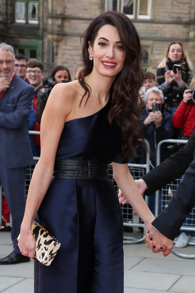 Amal Clooney S One Shoulder Dress Is Even More Stunning When You