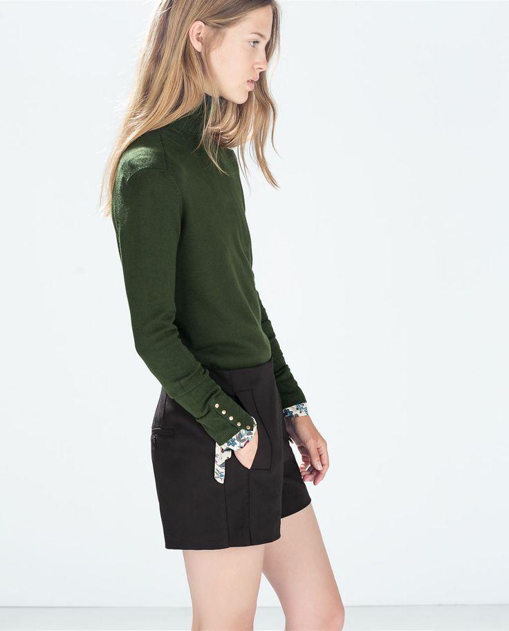 Short met hoge taille - Zara