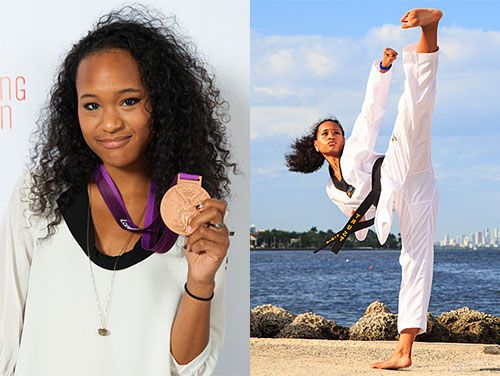 Paige McPherson (African-American/Filipino) [American] Known as: Olympic Taekwondo Competitor (Won a Bronze Medal in Women's Taekwondo (67kg) at the 2012 London Olympics) More Information: Paige...
