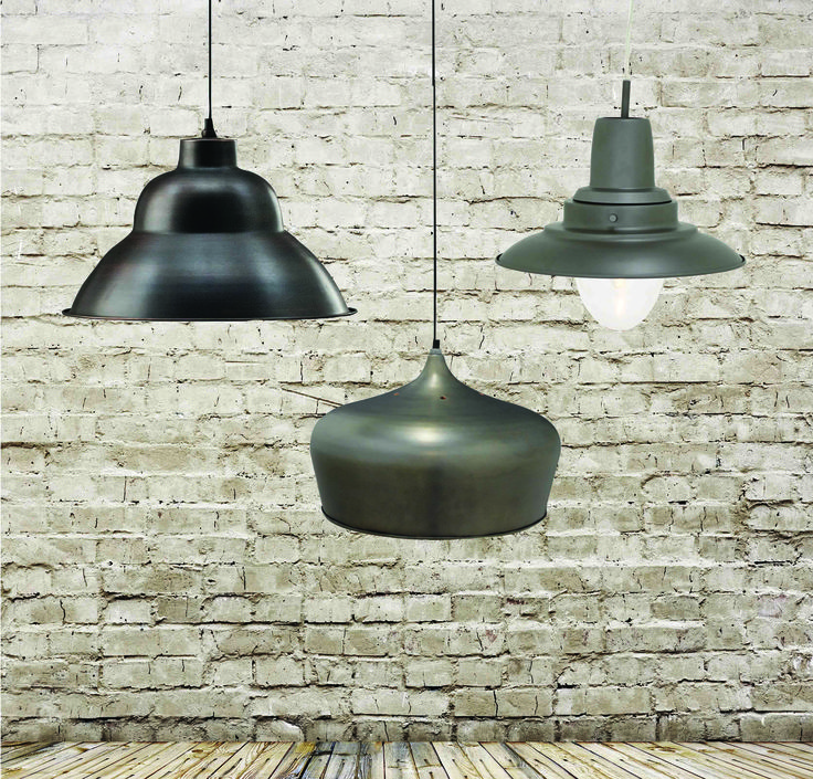 Industrial pendants www.earlysettler.com.au