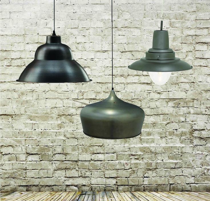Industrial pendants www.earlysettler.com.au