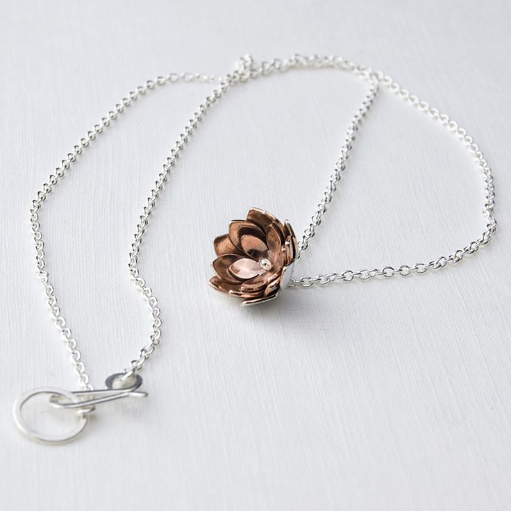 Simone Walsh - double tulip pendant... love what this woman is all about & so affordable!