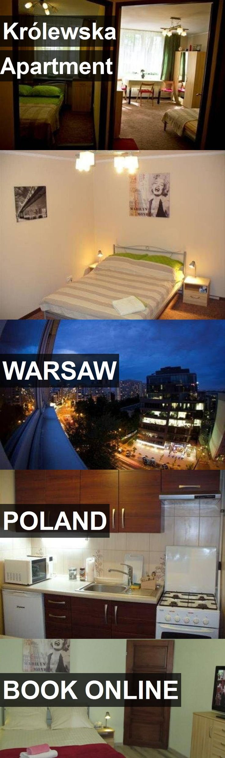 Hotel Królewska Apartment in Warsaw, Poland. For more information, photos, reviews and best prices please follow the link. #Poland #Warsaw #KrólewskaApartment #hotel #travel #vacation
