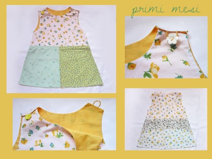 baby patchwork dress