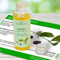 Huile végétale de Jojoba BIO pour peau grasse, sèche ou mixte et contre l'acné !