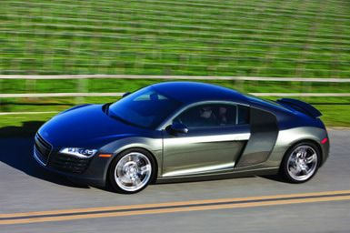 Guided Tour of the Audi R8: 2009 Audi R8