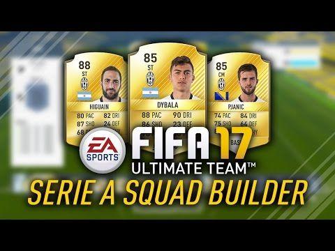 http://www.fifa-planet.com/fifa-ultimate-team/fifa-17-serie-a-squad-w-85-dybala-88-higuain-fifa-17-ultimate-team/ - FIFA 17 SERIE A SQUAD w/ 85 DYBALA & 88 HIGUAIN! FIFA 17 ULTIMATE TEAM  FIFA 17 Squad Builder. Serie A Squad Builder on FUT 17! 85 Dybala! #FIFA17CaptureEvent Subscribe to La5ty! https://www.youtube.com/user/la5ty?sub_confirmation=1 Follow him Twitter – http://www.twitter.com/la5ty Twitch – http://www.twitch.tv/FUTWIZ Twitter –... Cheap FIFA
