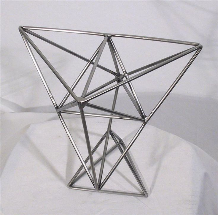 Contemporary Modern Metal Sculpture   Stainless Steel