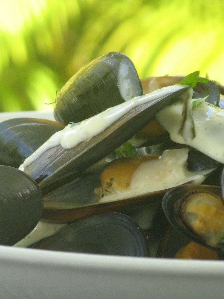 Moules sauce Poulette au Thermomix - Patio'nnement cuisine