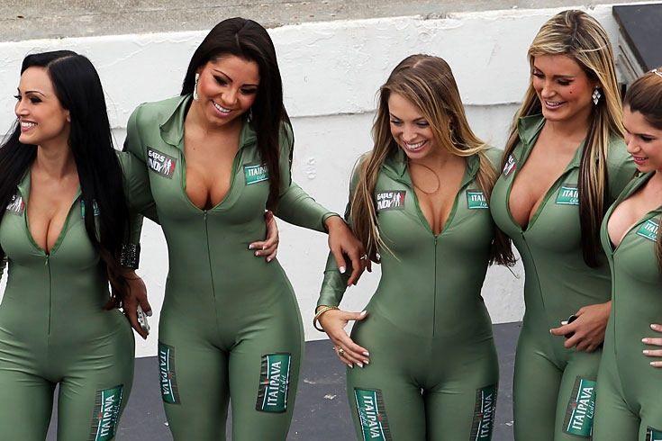 Grid girls naked — 7