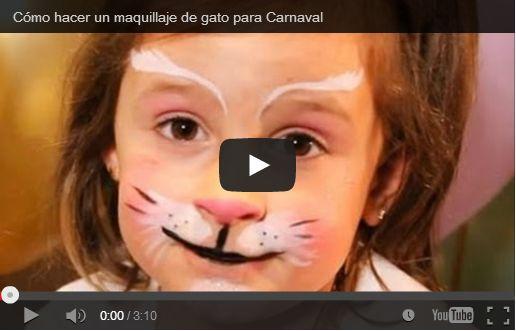 Carnevale trucco bambini da gatto