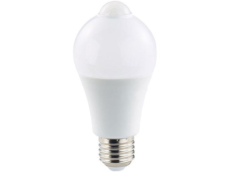 Luxury Luminea LED Lampe mit PIR Sensor Watt E
