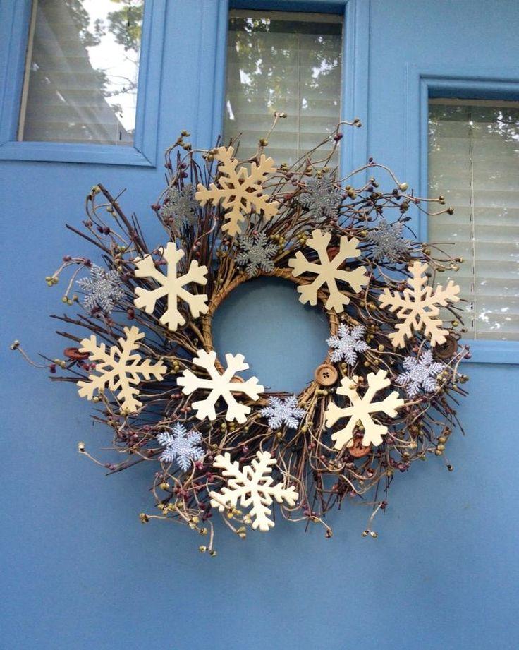 Winter wreath 684 best Winter deco mesh