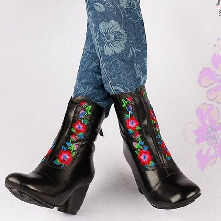 The bohemian pattern is one of the greatest ones. In the present post we are goi… – Boots