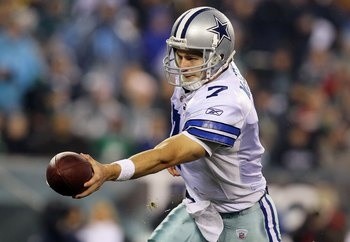 Stephen McGee, QB, Dallas Cowboys.  There isn't a big market for a No.3 QB this season, but McGee will become a work in progress to any team that pursues him.