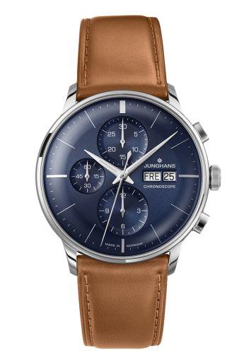 n° de référence 027/4526.00 - La collection Meister est depuis 1936 l´ image même de l´ horlogerie classique chez Junghans. C´est en perpétuant cette tradition d´ expertise dans l´ horlogerie mécanique que les montres actuelles Meister voient le jour.