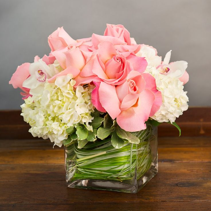 Ideas about pink flower arrangements on pinterest