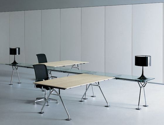 Individual desks | Desks-Workstations | Nomos | TECNO | Foster. Check it out on Architonic