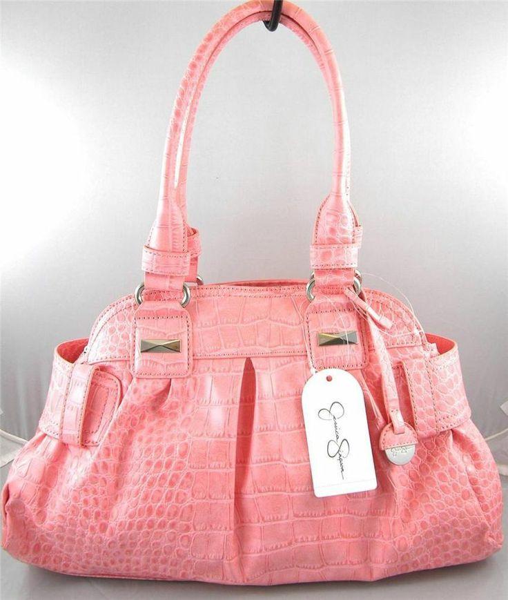 Handbags Pink Jessica Simpson