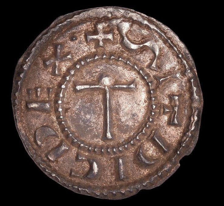 """A metal detectorist made the """"find of a lifetime"""" after picking up a 1,100-year-old penny that could be worth up to £15,000.  Richard Scothern, 45, hit the jackpot when he made the amazing discovery in a parsnip field on Boxing Day last year.  Richard, who has been a metal detectorist for 19 years, was"""