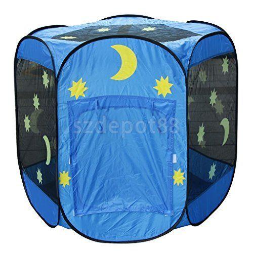 Kids Hexagonal Tent Portable Tent Outdoor Picnic Game Folding Play Tent. #Kids #Hexagonal #Tent #Portable #Outdoor #Picnic #Game #Folding #Play
