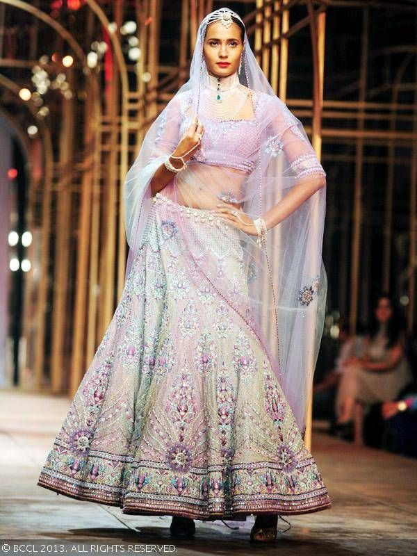 http://www.TarunTahiliani.com/index.html @ Aamby Valley India Bridal Fashion Week (Dec) 2013