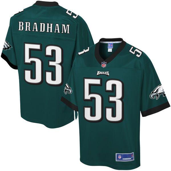 Nigel Bradham Philadelphia Eagles NFL Pro Line Youth Player Jersey - Midnight Green - $74.99