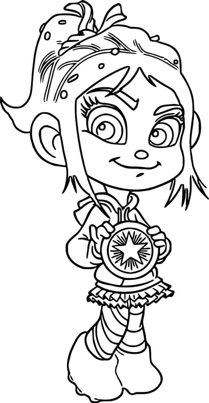 Vanellope Wreck It Ralph Car Coloring Pages Princess Coloring Pages Cars Coloring Pages Coloring Pages