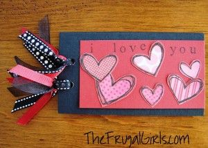 Printable Valentine's Day 'Love' Coupons! at TheFrugalGirls.com #valentines #day #crafts