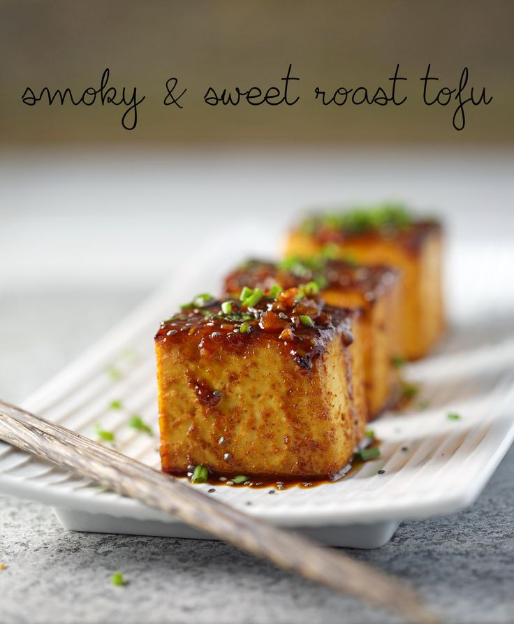 smoky sweet roast tofu feature