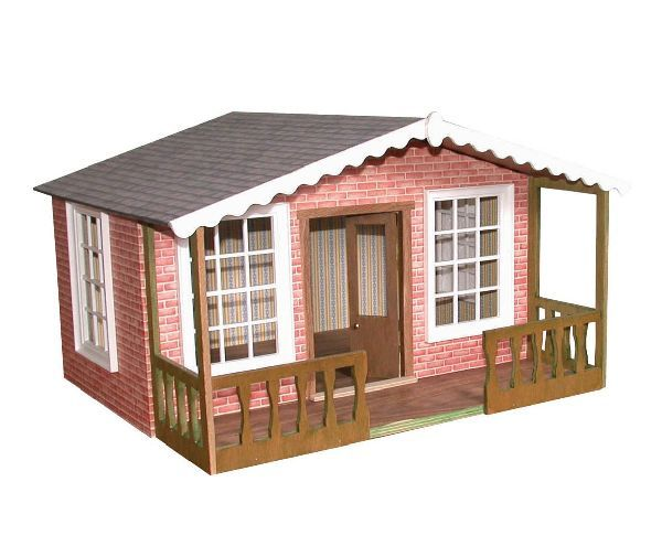 17 best images about dolls house kits on pinterest play for Chalet style home kits