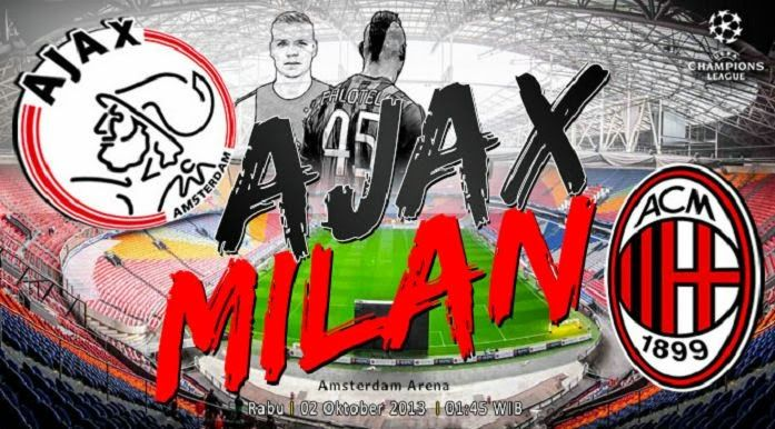 Ajax vs AC Milan Champions League Preview