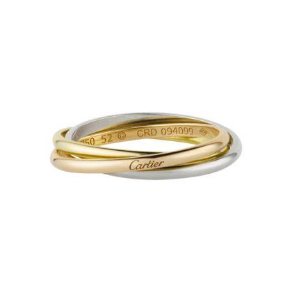 Bijoux - Bague - Alliances - Or - Or blanc - Cartier