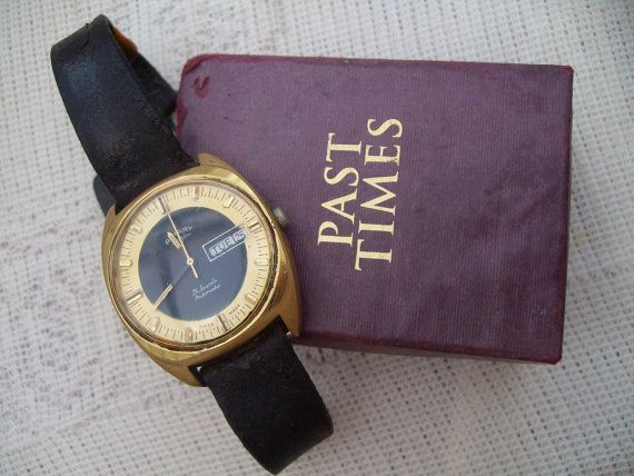 Vintage Rotary Men's Watch Automatic Swiss Watch Man's